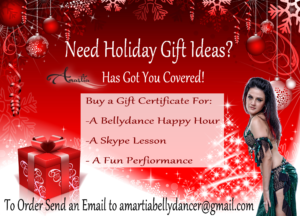 baltimore bellydancer holiday party, holiday party bellydancer, bellydance by amartia