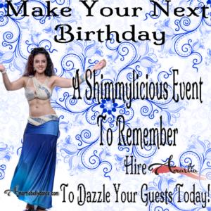 baltimore birthday party, birthday party baltimore, bellydance by amartia