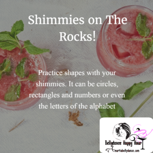 shimmies on the rocks, rocks on the shimmies, bellydance by amartia